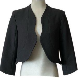GORGEOUS MOSSIMO Black Scallop Edged Blazer.Size 8